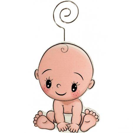 Pinza Portafotos Madera Baby Portafotos de Bautizo Baratos1,32 €