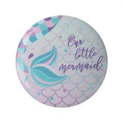 Espejo Chapa Sirenita Mermaid