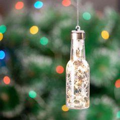Botellita Luces Navidad