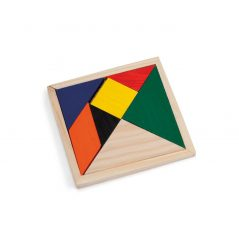 Puzzle Colores Madera