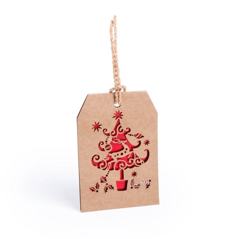 Decoración Navideña Troquelada Detalles para Navidad