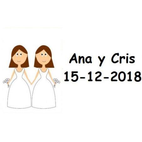 Tarjeta Chicas Ramo Tarjetas de Boda Gratis0,00 €