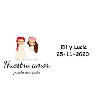 Tarjeta Chicas Amor Tarjetas de Boda Gratis0,00 €