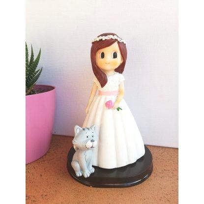 Muñeco Niña Gato Pastel Detalles de Comunión8,99 €