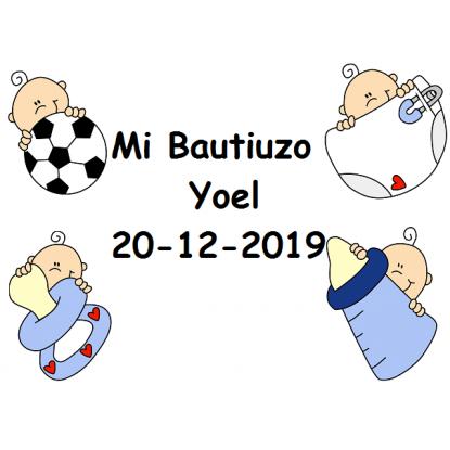 Tarjeta Bautizo Niño Feliz Tarjetas de Bautizo Gratis0,00 €