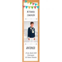 Recordatorio Personalizado Niño Comunión Recordatorios de Comunión0,48 €