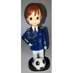 Figura Almirante Azul Fútbol Figuras Tartas para Comunión