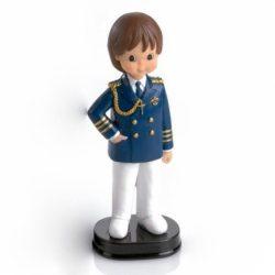 Figura Niño Comunión Almirante Azul