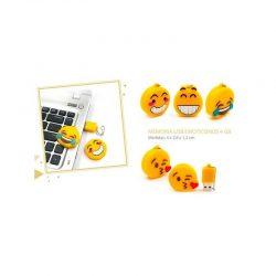 Memoria Usb Emoticonos 4GB Detalles de Boda Baratos