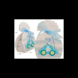 Lote 33 Cajitas y Bolsitas Baby Azul Decoraciones de Bautizo para Detalles25,10 €