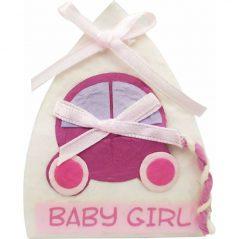 Lote 18 Cajitas Baby Rosa