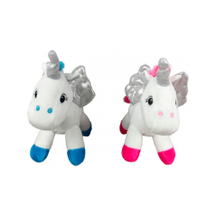 Expositor 8 Peluches Unicornio