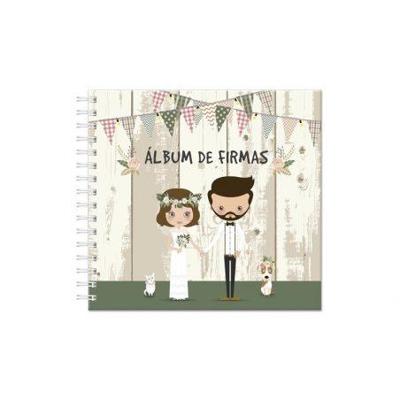 Álbum de Firma Novios Detalles de Boda Baratos8,63 €