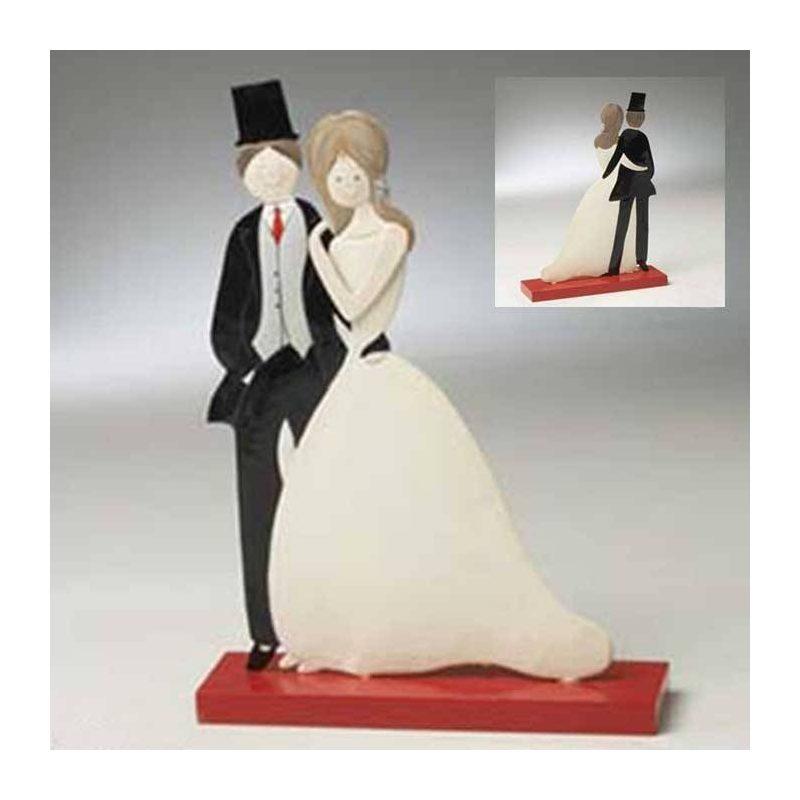 Figuras Novios Elegantes Figuras para Tartas de Boda
