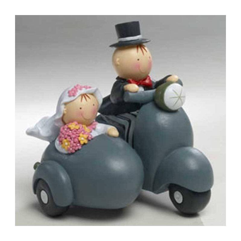 Figuras Novios Tarta Sidecar Figuras para Tartas de Boda