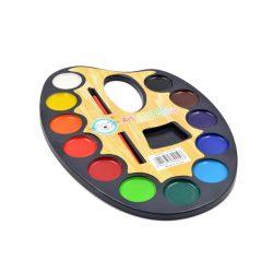 Paleta Acuarelas para Pintar Detalles para Niños