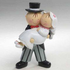 Figura Tarta Novios Brazos Figuras para Tartas de Boda 8,83 €