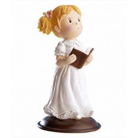 Figura Tarta Comunión Niña Rubia Biblia Figuras Tartas para Comunión5,24 €