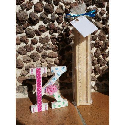 Caja Madera Con Lápices Decorada Detalles Primera Comunión