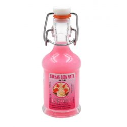 Licor Fresas con Nata Siphon 40 ml Botellitas y Miniaturas para Bodas