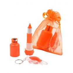 Boli con Llavero Naranja Organza Avión Regalos San Valentin para Hombres