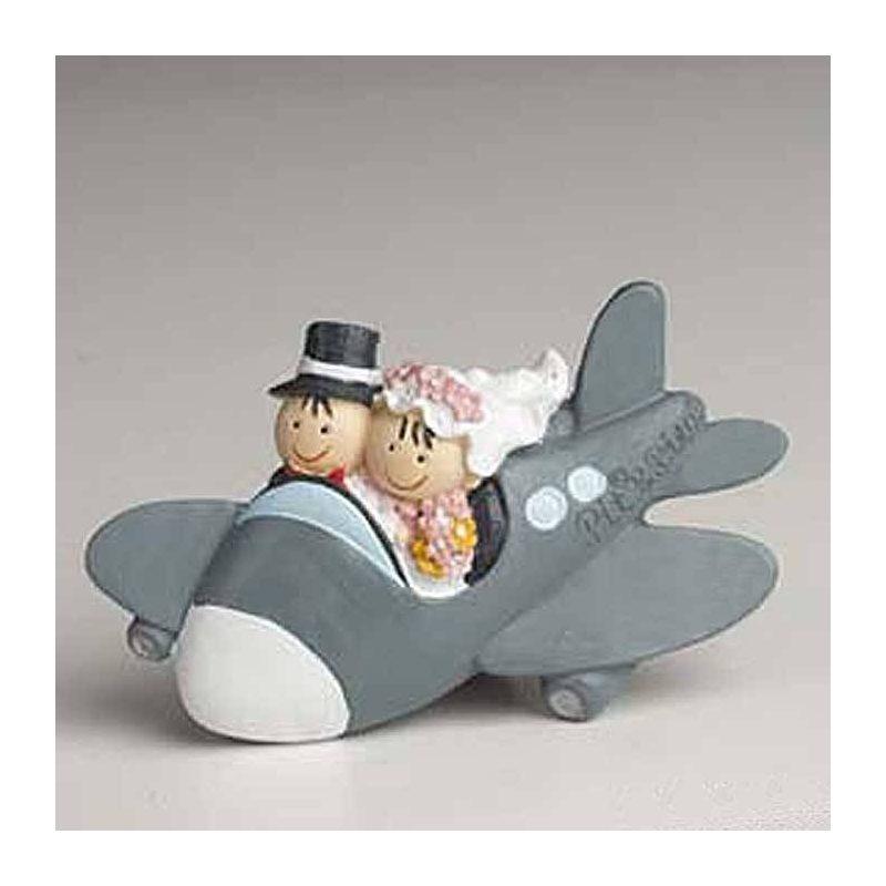 Imanes Novios Avion Detalles de Boda Baratos
