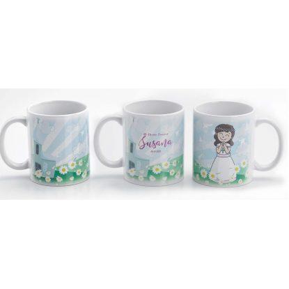 Tazas Flores con Caja Comunión Tazas Y Mugs3,20 €