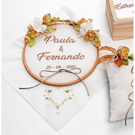 Porta Alianzas Bordado Complementos de Boda y Novia26,80 €