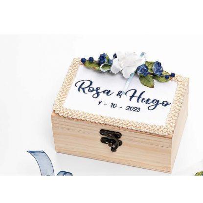 Caja Arras Boda Madera Complementos de Boda y Novia16,11 €