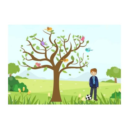 Árbol de Huellas Comunión Decoraciones de Comunión