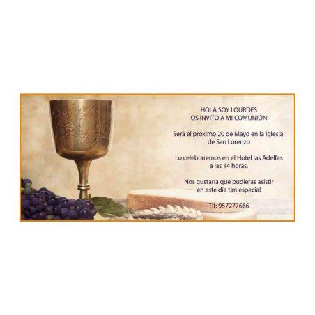Invitación Comunión Marinero Clásica Invitaciones de Comunión0,48 €