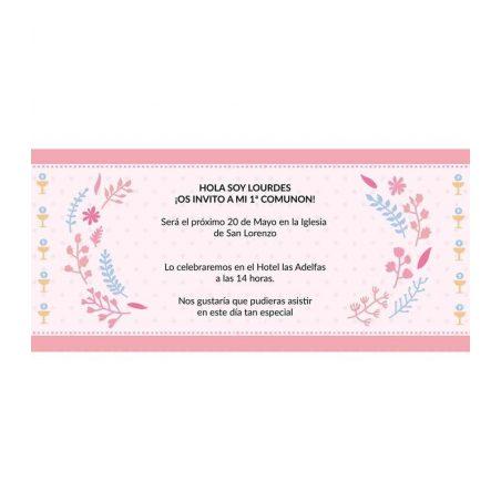 Invitación Comunión Típica Invitaciones de Comunión0,48 €