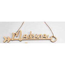 Cartel Silla Madera Madrina Decoraciones de Boda8,91 €