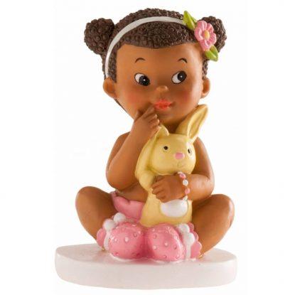 Figura Tarta Niña Conejito Figuras para Tartas de Bautizo8,24 €