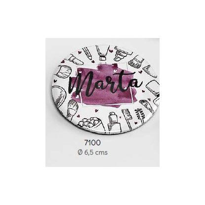 Espejo Maquillaje Nombre Invitada Detalles de Boda para Mujeres 1,06 €