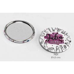 Espejo Maquillaje Invitada Novios Detalles de Boda para Mujeres 1,15 €