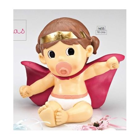 Hucha Bebé Super Heroina Figuras para Tartas de Bautizo7,85 €