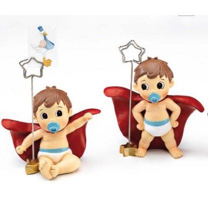 Portafotos Bebé Super Héroe Portafotos de Bautizo Baratos