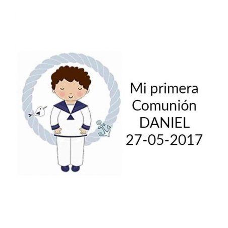 Pegatina Comunión Niño Marinero ( Pliego 40 ud) Comuniones2,28 €