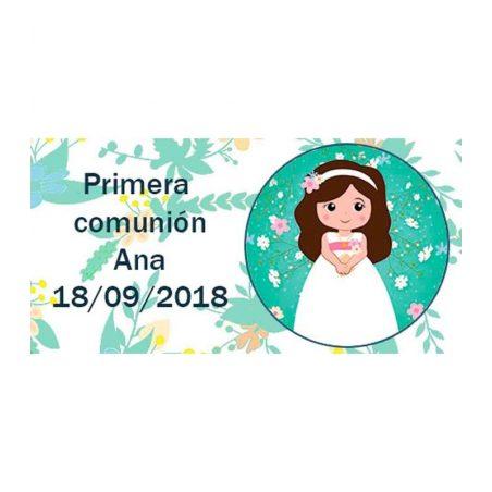 Pegatina Comunión Niña Buena ( Pliego 48 ud) Comuniones2,28 €