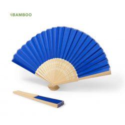 Abanico Bambú y Tela Invitados Colores Detalles de Comunión